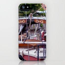 Ship deck iPhone Case