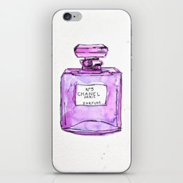 perfume purple iPhone Skin