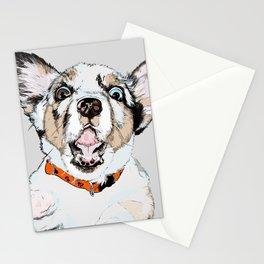 #inktober2016:scared Stationery Cards