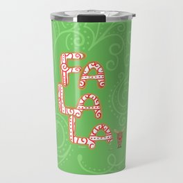 Holiday Cookie for Rudolph Travel Mug