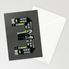 Seattle 3 - Black Stationery Cards