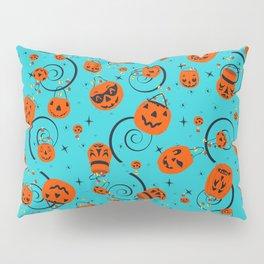 Halloween Magic- Turquoise Pillow Sham