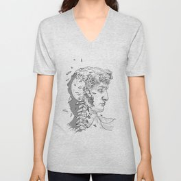Occult David Unisex V-Neck