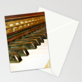 That Old Piano  Stationery Cards