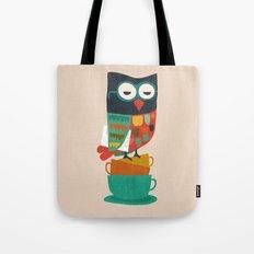 Morning Owl Tote Bag