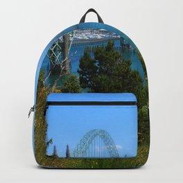 Bridge Over Calm Waters Backpack