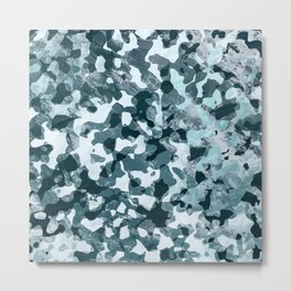 Surfing Camouflage #5 Metal Print