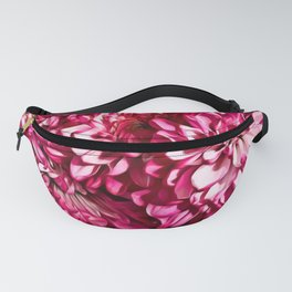 Bright Pink Mums Fanny Pack