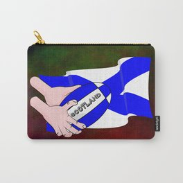 Rugby Scotland Flag Carry-All Pouch