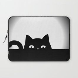 Peeking Cat Laptop Sleeve