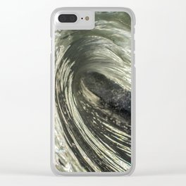 Natural Constructed Force Clear iPhone Case