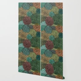 Ink  Pattern No.4 Wallpaper