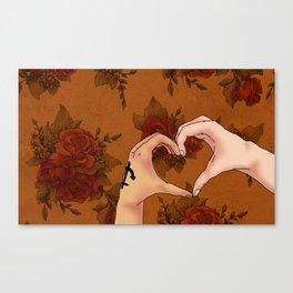 Language of Hands Canvas Print