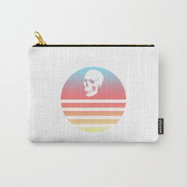 Retro Skull 9 Carry-All Pouch