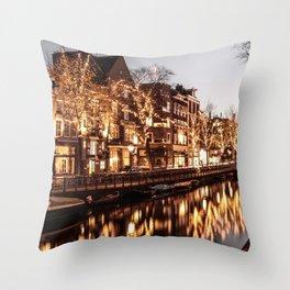 Shinning Amsterdam Throw Pillow
