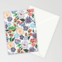 Springtime Floral Stationery Cards