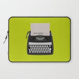 the perks of being wallflower Laptop Sleeve