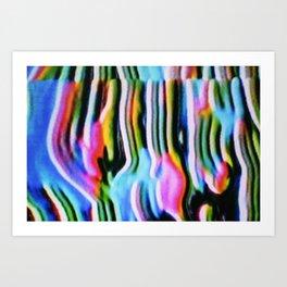 feedback: flow (1) Art Print