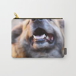 Agressive dog Carry-All Pouch