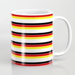 Mariniere and Flag - Germany Coffee Mug