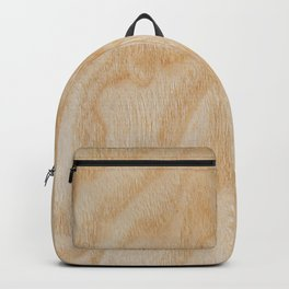 Unique rotary birch yellow wood design Backpack