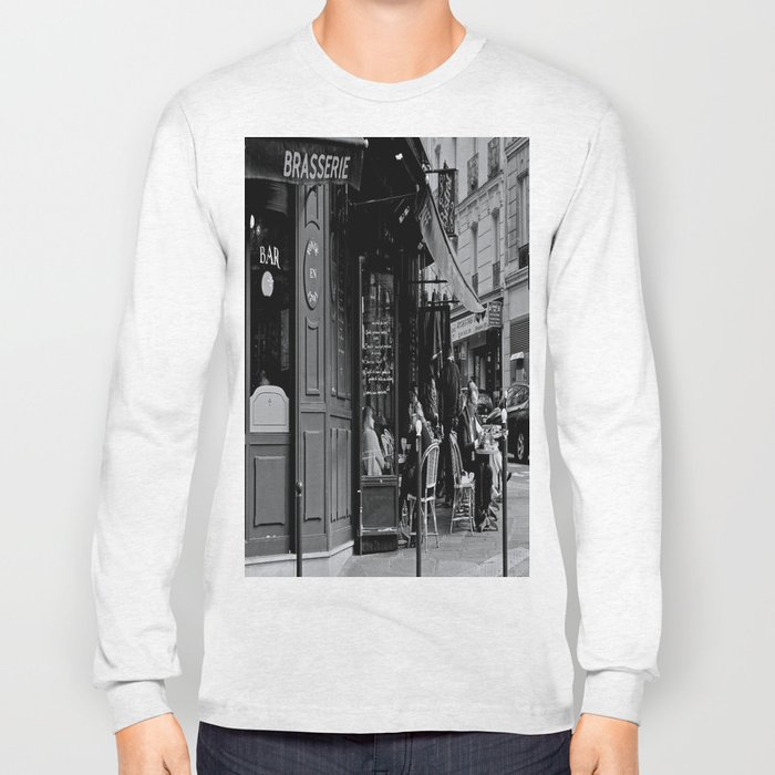 At the Brasserie Long Sleeve T-shirt