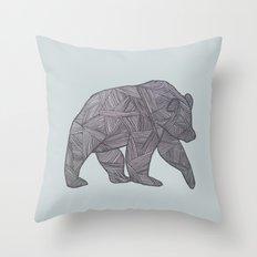 Bear. Throw Pillow