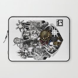 WonderWoman 2 Different Worlds Laptop Sleeve