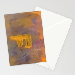Hot Love on Fire Stationery Cards