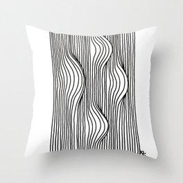 Bumps Throw Pillow