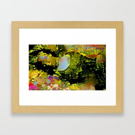 Sleeping Grass Framed Art Print