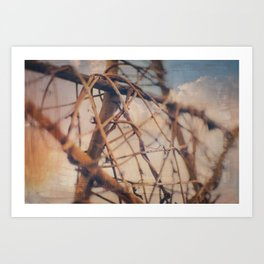 Tangled Without Words Art Print