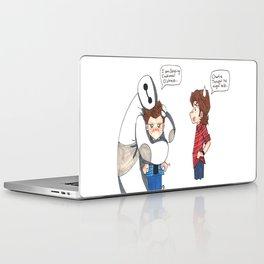 Supernatural Meets Baymax Laptop & iPad Skin