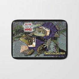 American Bullfrog- Choral Aggression Bath Mat