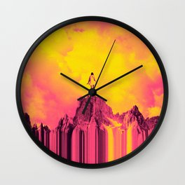 Adventures in the Clouds Wall Clock