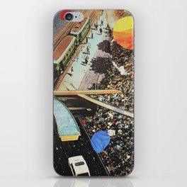 from nowhere to nowhere 2 iPhone Skin