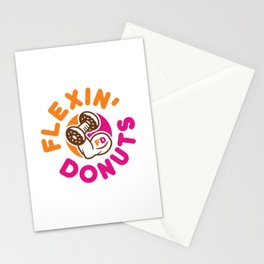 Flexin Donuts Stationery Cards