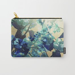 Sunny Blue Carry-All Pouch