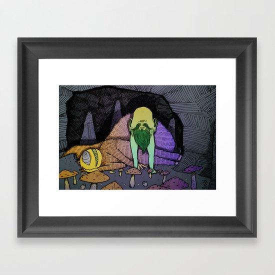Cavefolk Framed Art Print
