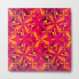 Pink Kaleidoscope  Metal Print