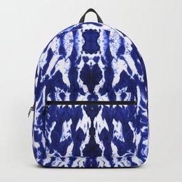 Ayashi Shibori Ikat Blue Backpack