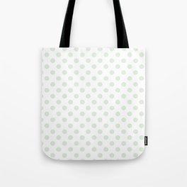 Green Spotty Pattern  Tote Bag