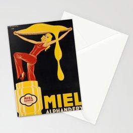 vintage Plakat miel alphandery. 1932 Stationery Cards