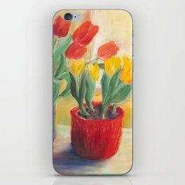 longing for spring - tulip iPhone Skin