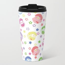 Six Same Faces Travel Mug