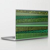bamboo Laptop & iPad Skins featuring Bamboo by glorya