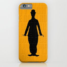 Graphic Chaplin iPhone Case
