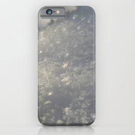 Snowflakes 3 iPhone Case