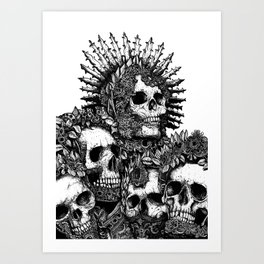 The Ancients Kings : Reunion Art Print