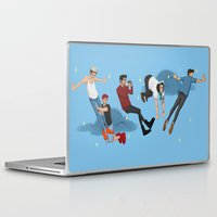 neverland Laptop & iPad Skins featuring Off To Neverland by Ashley R. Guillory